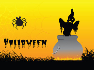 Abstract Background Of Halloween Treat