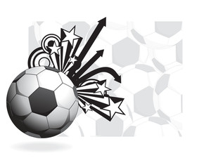 Abstract Background With Football
