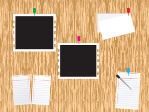 Abstract Background With Study Supplies