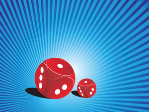 Abstract Background With Vector Dice