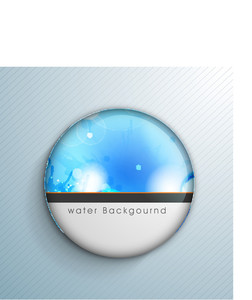 Abstract Background With Water Waves And Space For Your Text Can Be Ueed As Sticker