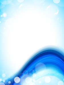 Abstract Background With Water Waves And Sun Light