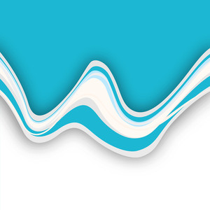 Abstract Background With Water Waves On Grey Background