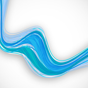 Abstract Background With Water Waves With Space For Your Text