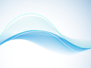 Abstract Background With Water Waves