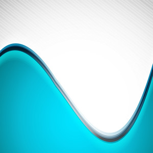 Abstract Background With Waves On Grey Background