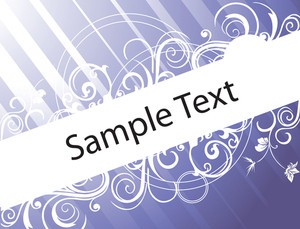 Abstract Banner Of Funky Vector Background For Text