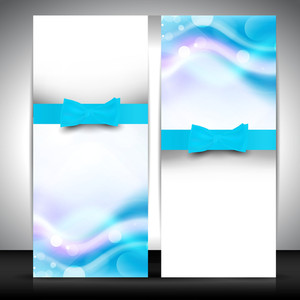 Abstract Banner Set.