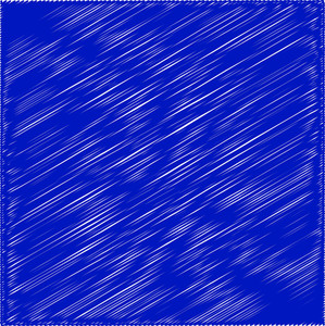 Abstract Blue Graphic Scribble Lines Background