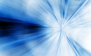 Abstract Blue Lines Background