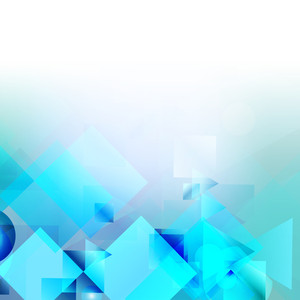 Abstract Blue Wave Background Design