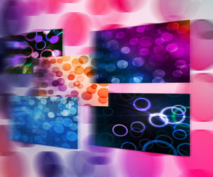 Abstract Bokeh Images