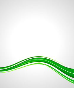 Abstract Business Wavy Banner