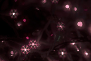 Abstract Christmas Snowflakes Background