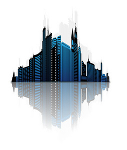 Abstract City Vector Illustration