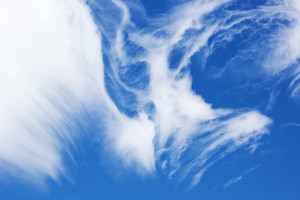 Abstract Clouds In Sky Background