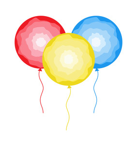 Abstract Colorful Decor Balloons