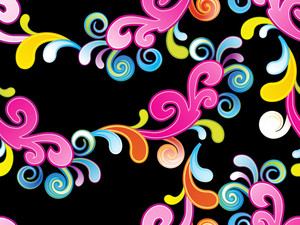 Abstract Colorful Element Background