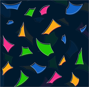 Abstract Colorful Elements Background