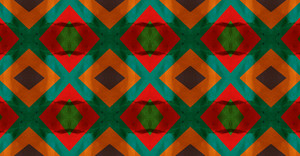 Abstract Colorful Kaleidoscope Graphic