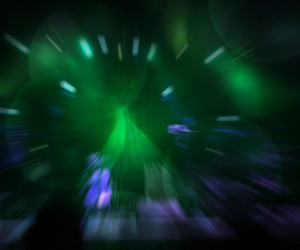 Abstract Concert Green Background
