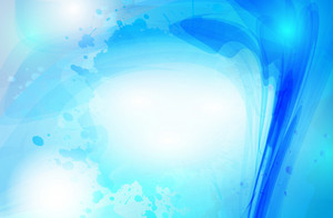 Abstract Cool Blue Vector