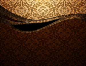 Abstract Damask Background Vector Illustration