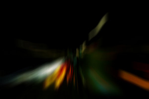 Abstract Dark Blurred Background