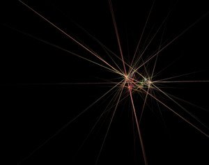 Abstract Dark Lights Background