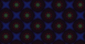 Abstract Dark Retro Pattern