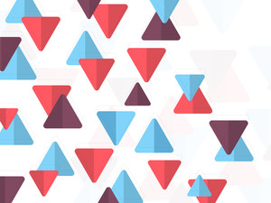 Abstract design decorated background with colorful geometric elements.