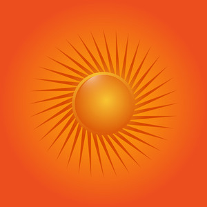 Abstract Design Sun Icon