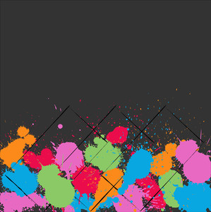 Abstract Drops Vector Background