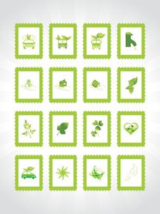 Abstract Ecology Series Icon Set1