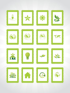 Abstract Ecology Series Icon Set2
