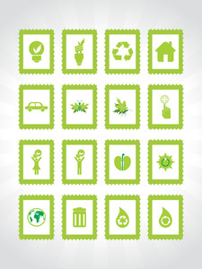 Abstract Ecology Series Icon Set3