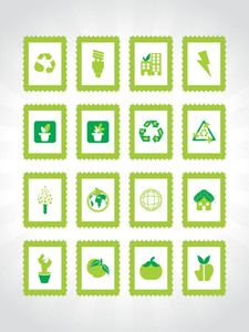 Abstract Ecology Series Icon Set4