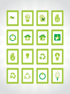 Abstract Ecology Series Icon Set5
