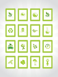 Abstract Ecology Series Icon Set6