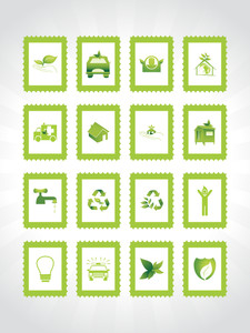 Abstract Ecology Series Icon Set_7