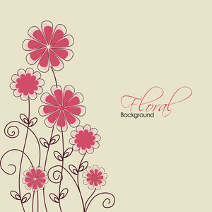 Abstract Floral Background 10