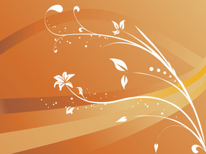 Abstract Floral Background Series7 Design1