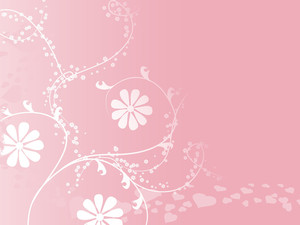 Abstract Floral Background Series7 Design6