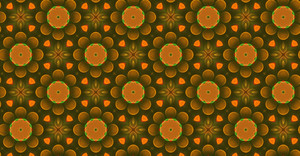 Abstract Floral Pattern Design Backdrop