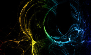 Abstract Fractal - Dynamic Lines Design
