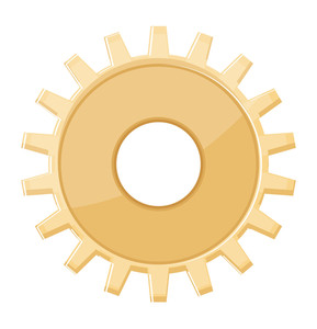 Abstract Gear Wheel Design