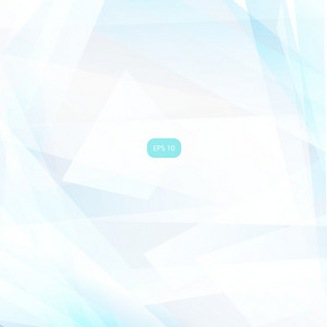 Abstract Geometric Light Blue Background