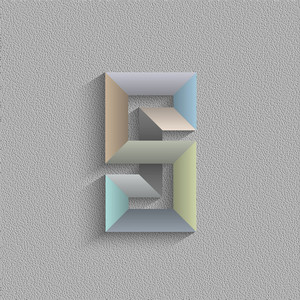 Abstract Geometric Shape