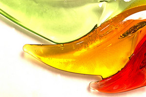 Abstract Glass Object Background