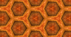 Abstract Graphic Kaleidoscope Pattern Design